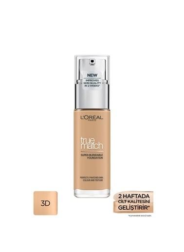 L'Oréal Paris L'Oréal Paris True Match Fondöten 3D3W BEIGE DORE Ten